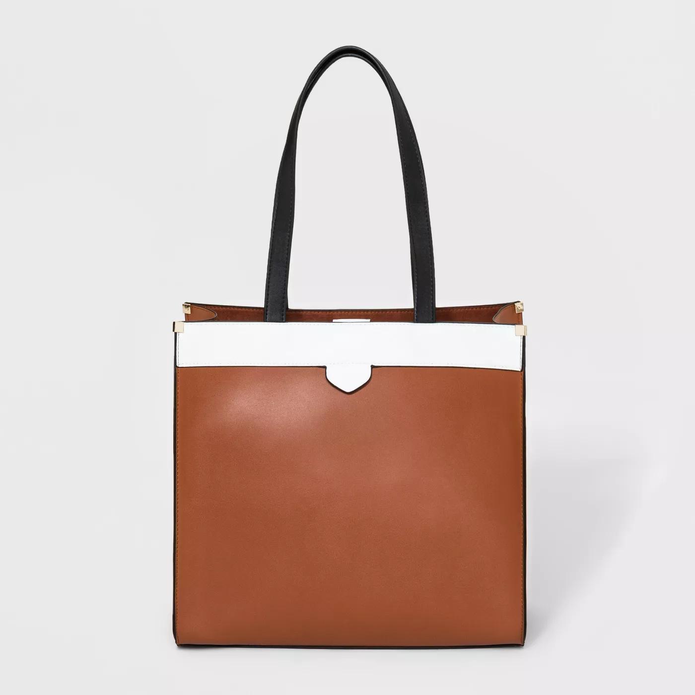 8952a6f6db3 Boxy Tote Handbag