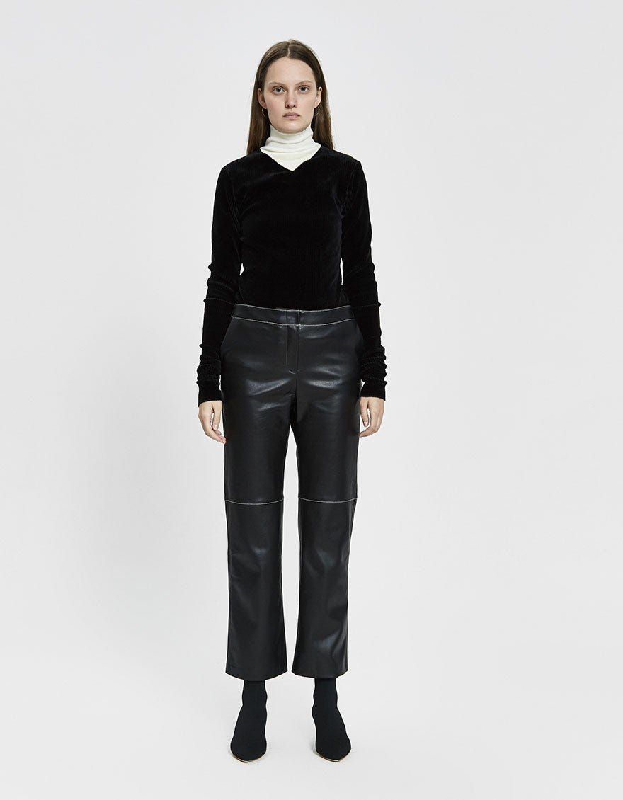 choose original latest selection of 2019 2019 hot sale Leather Pants Trend Spring 2019, Vegan & Genuine Option