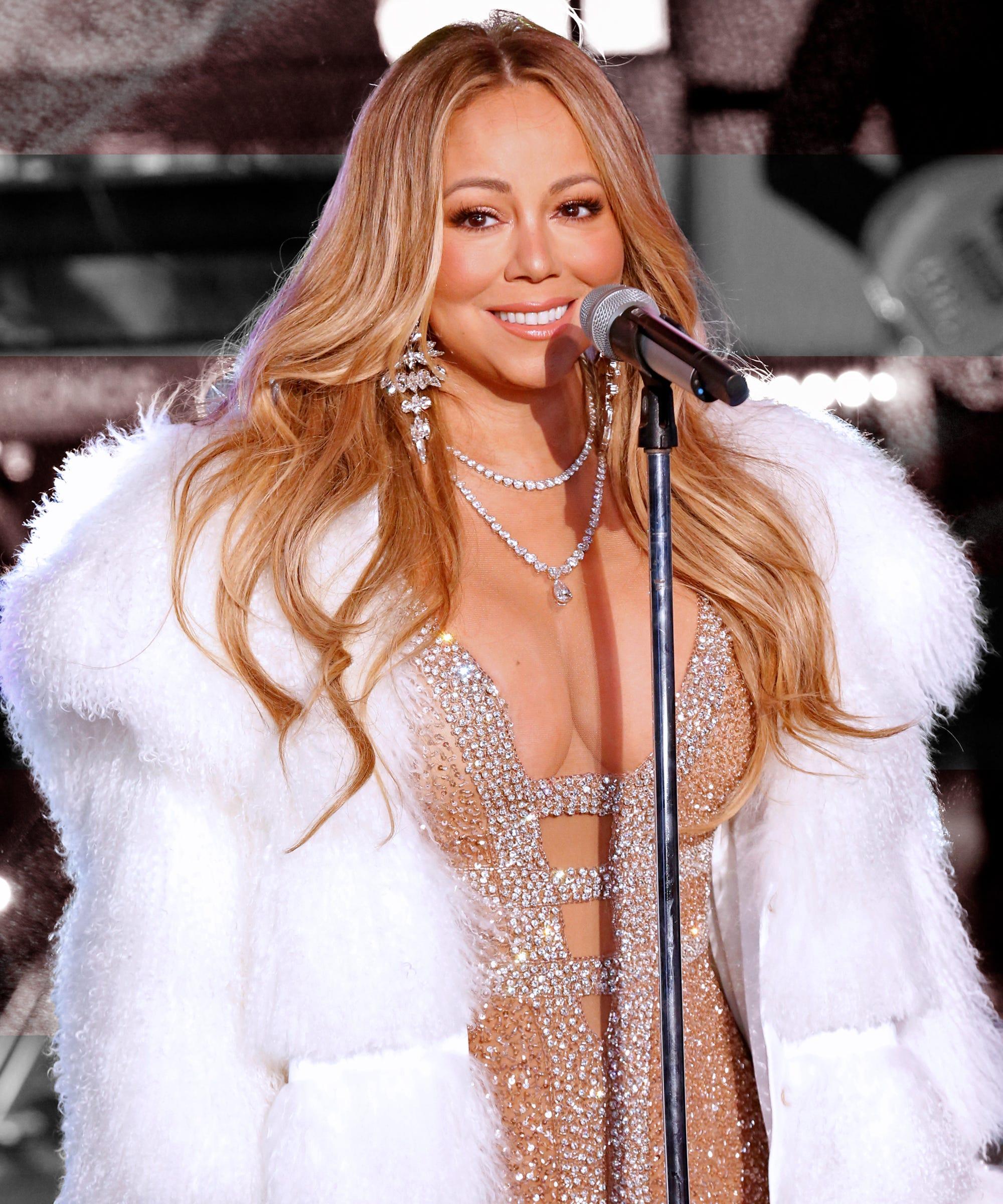 Mariah Carey Hot Tea New Years Eve Performance Hero