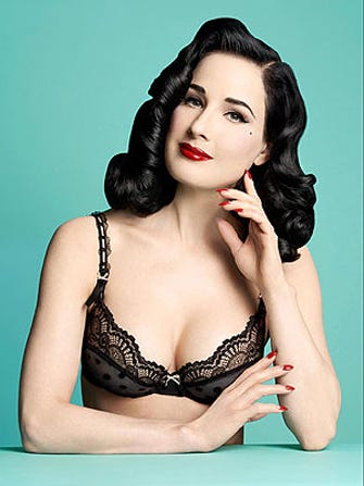 2c8f57d8a Dita Von Teese Makes The Sexiest Maternity Bra Of All Time