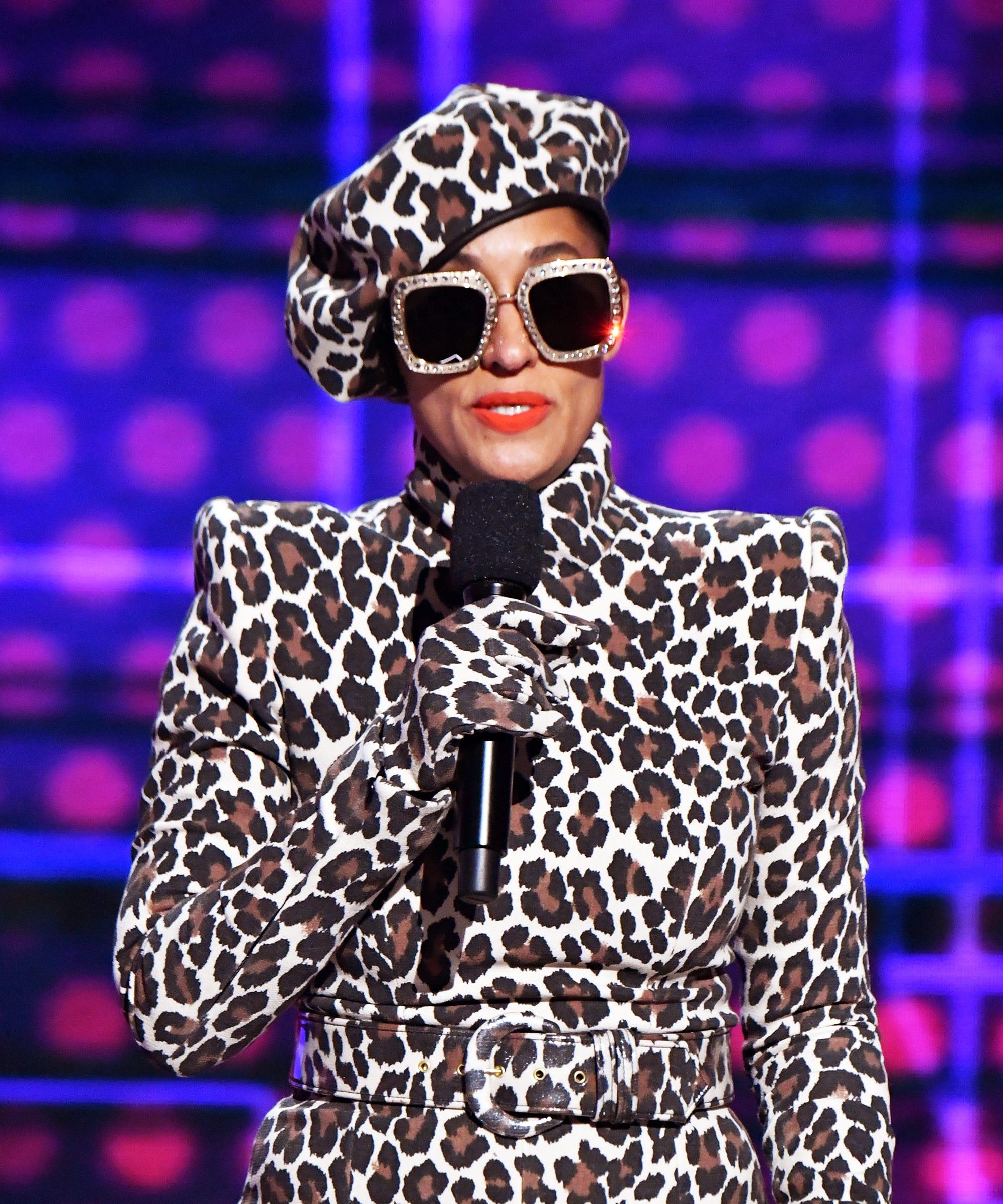 Tracee Ellis Ross Issa Rae Wearing Black Designers