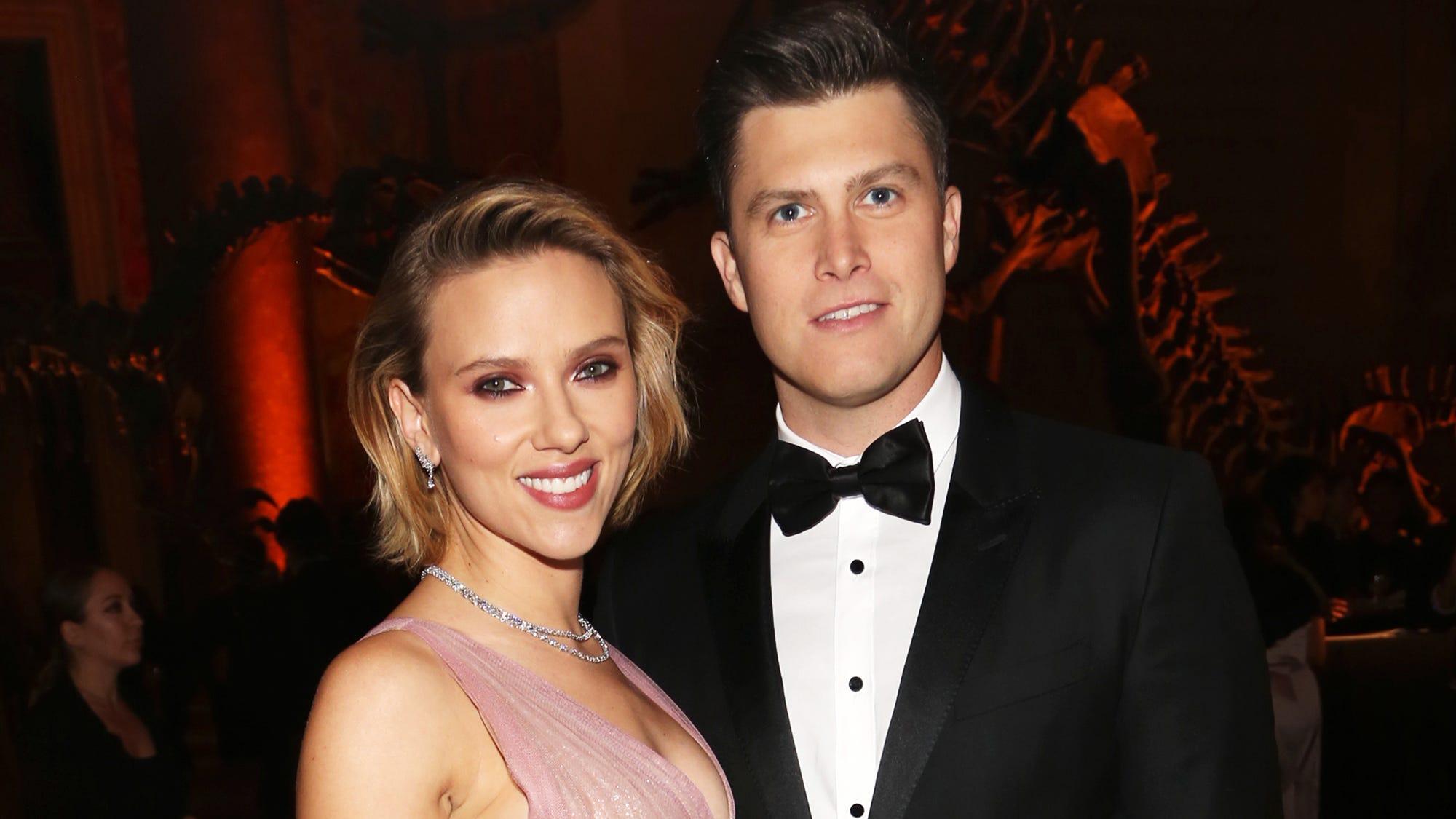 When Is Scarlett Johansson Fiance Colin Jost Wedding