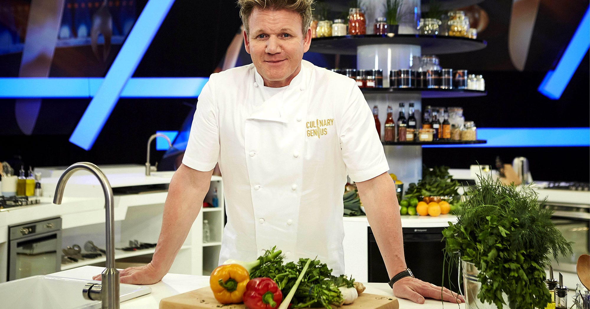 gordon ramsay announces new cooking show. Black Bedroom Furniture Sets. Home Design Ideas