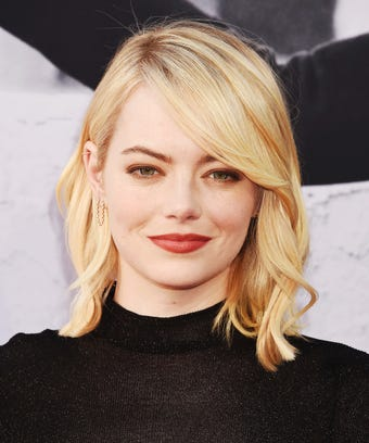 Emma Stone New Hair Color La Summer Trend Photos