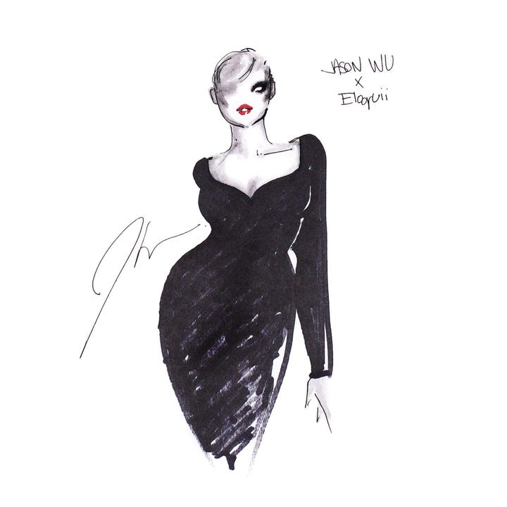Jason wu announced a plus size collab with eloquii for Jason wu fashion designer