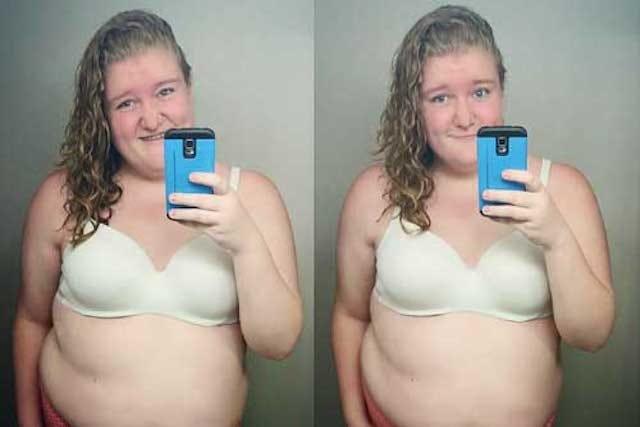 Teen Instagram Too Fat - Samm Newman Selfie Removed-2838