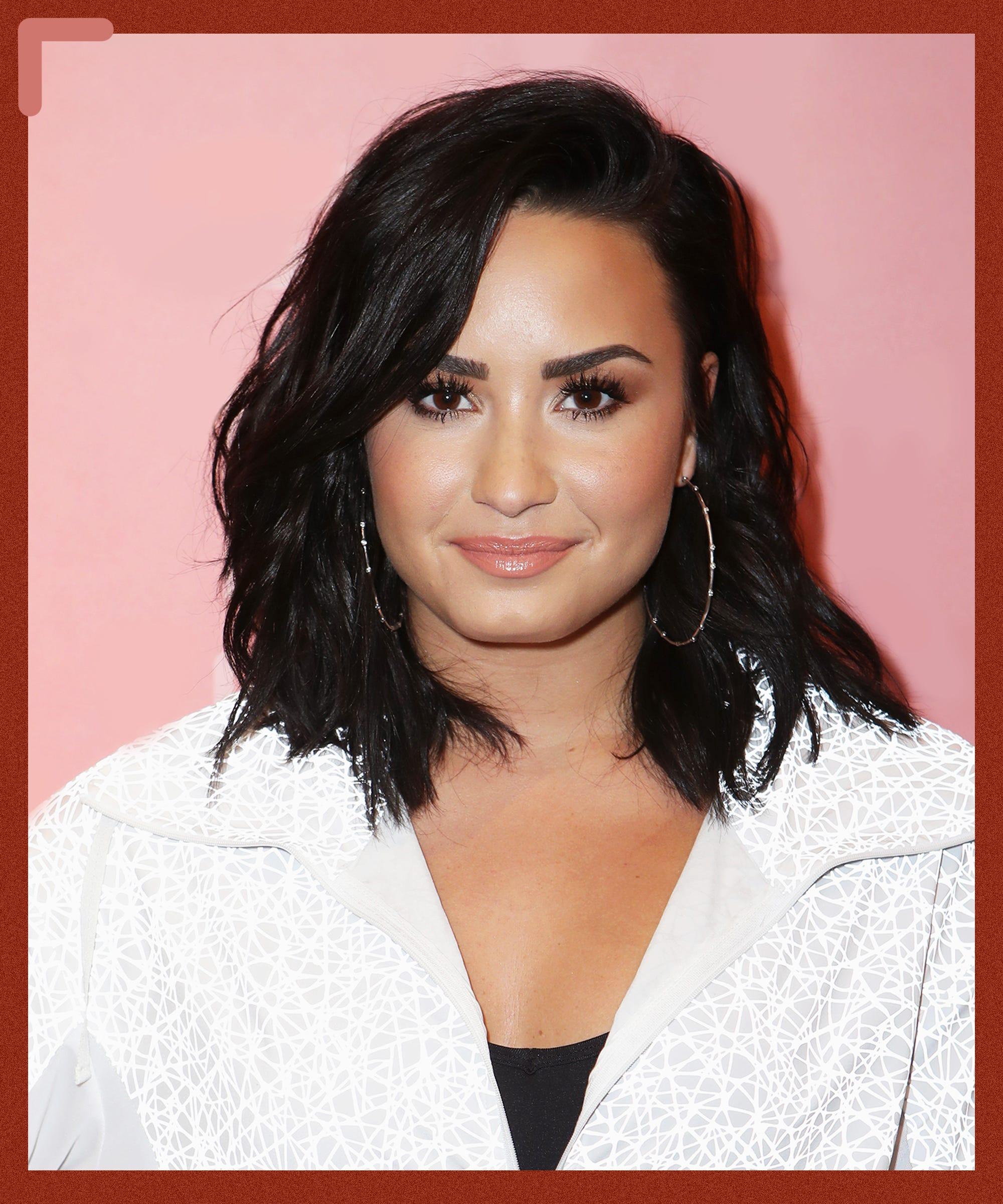 Demi Lovato Reveals Tiny Finger Tattoo About Self Love