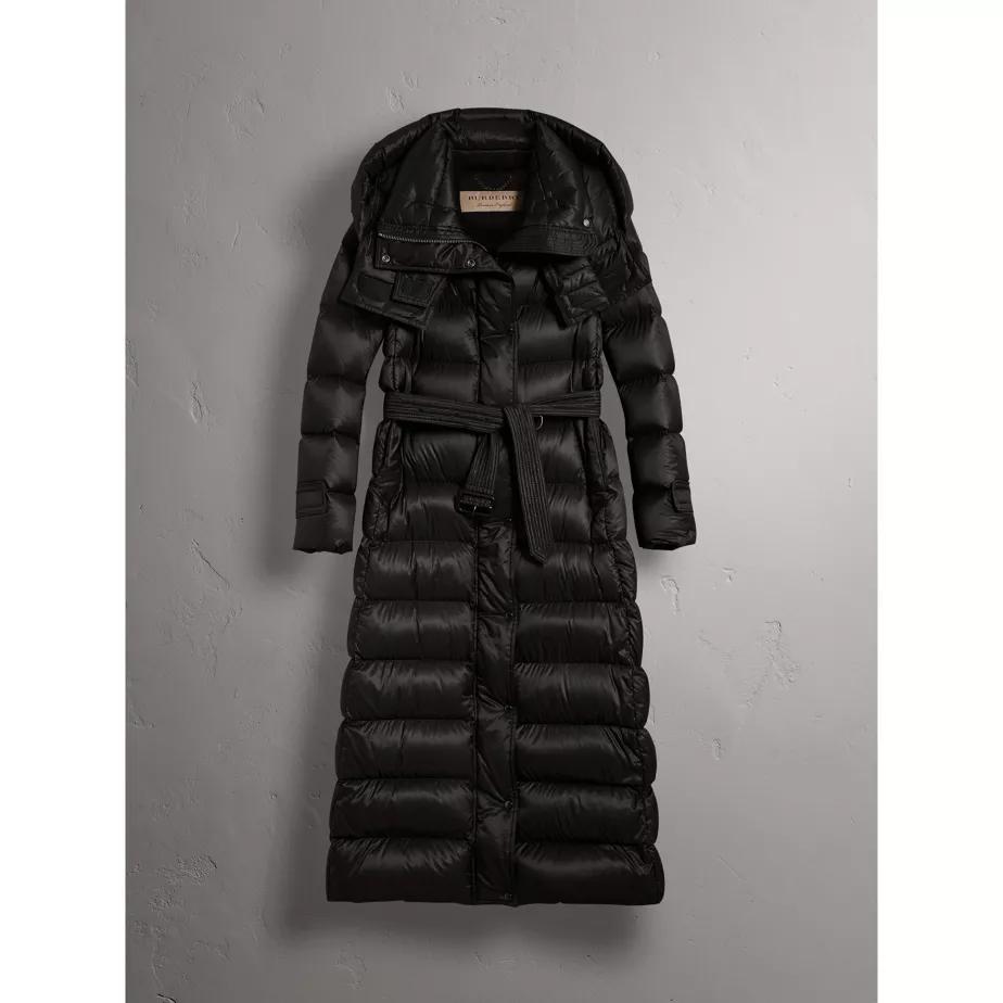c866ebcb6 Detachable Hood Long Down-filled Puffer Coat