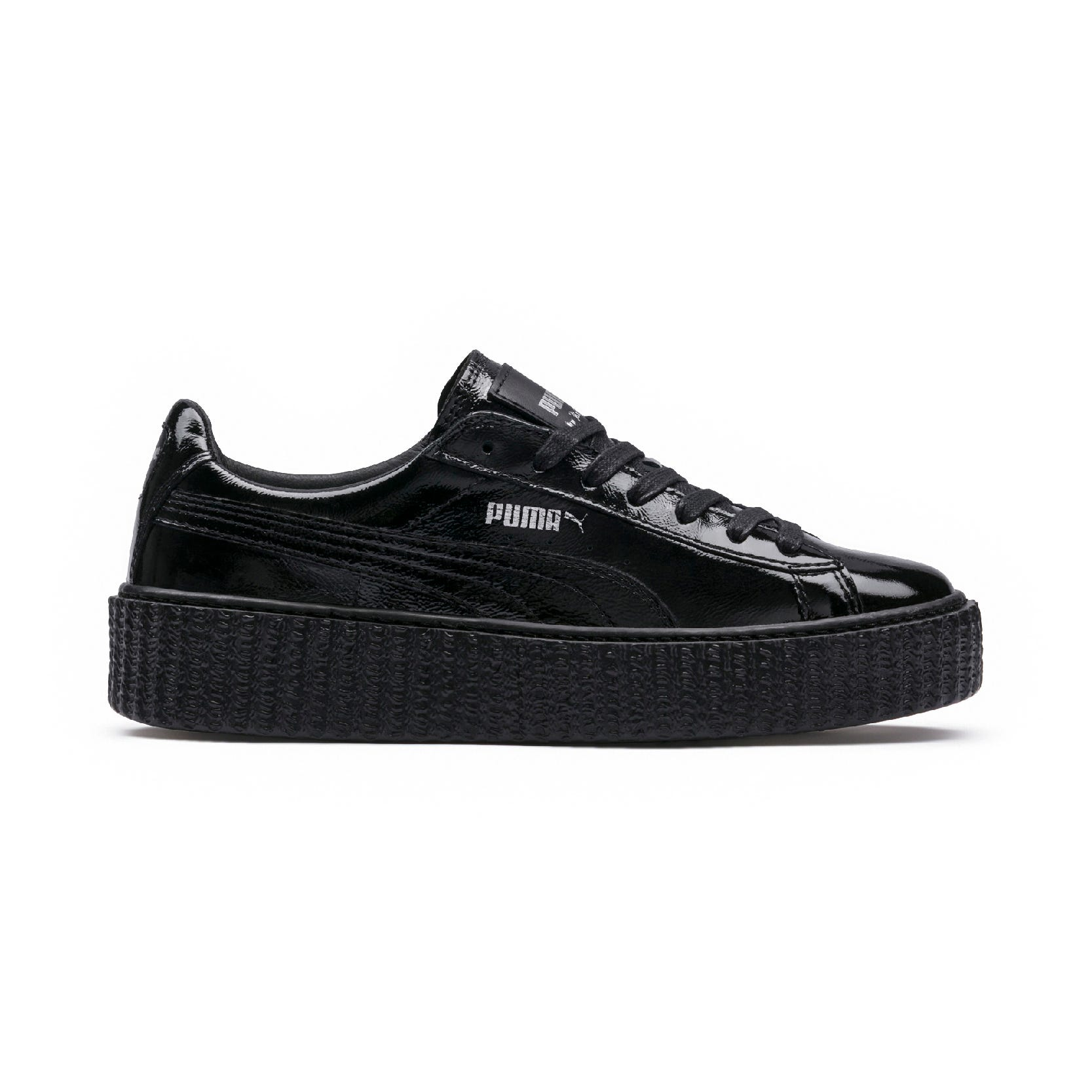buy popular 14920 9d498 Rihanna Fenty Puma Creeper Sneaker New Black White Drop
