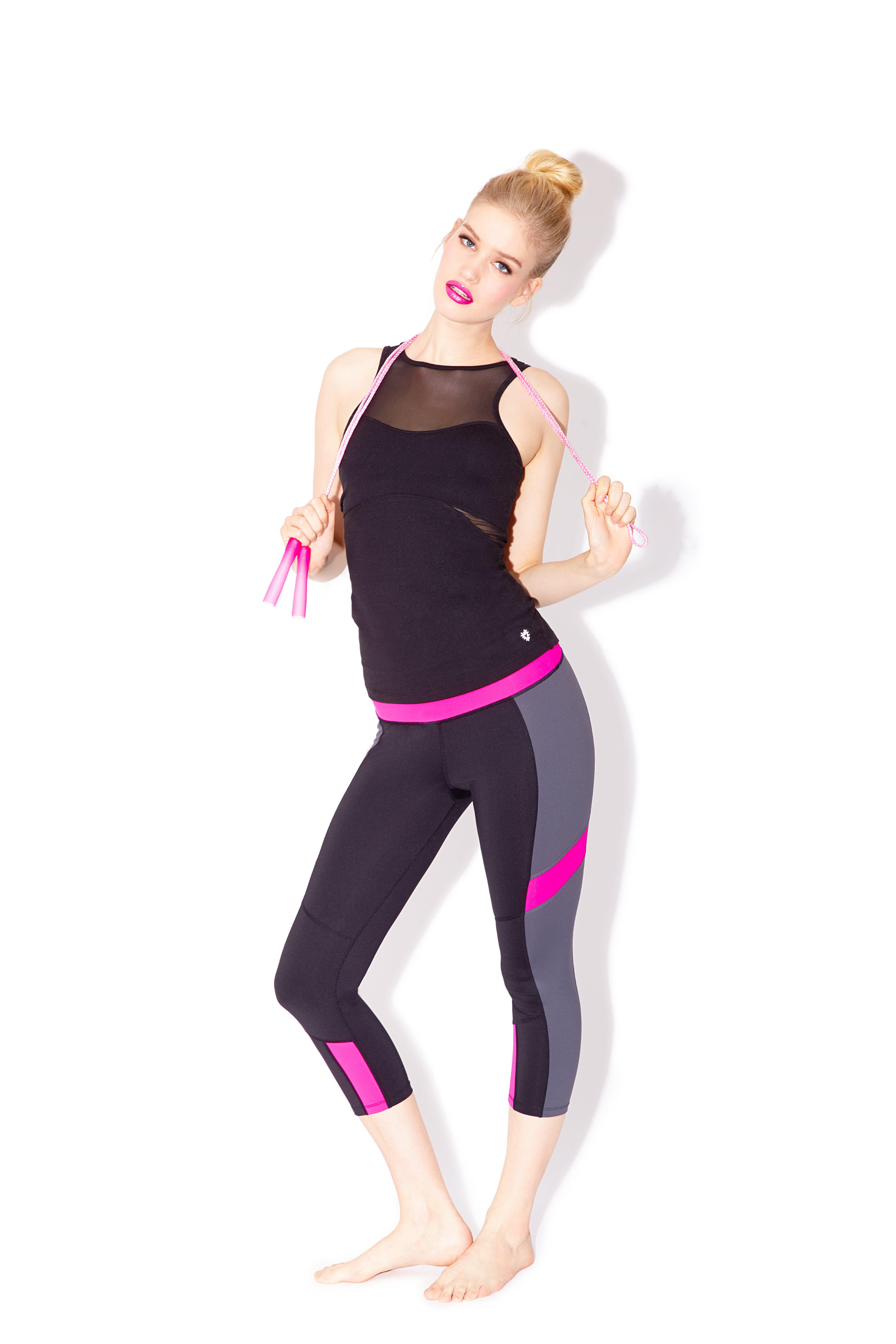 Betsey Johnson Activewear Designer Workout Clothes