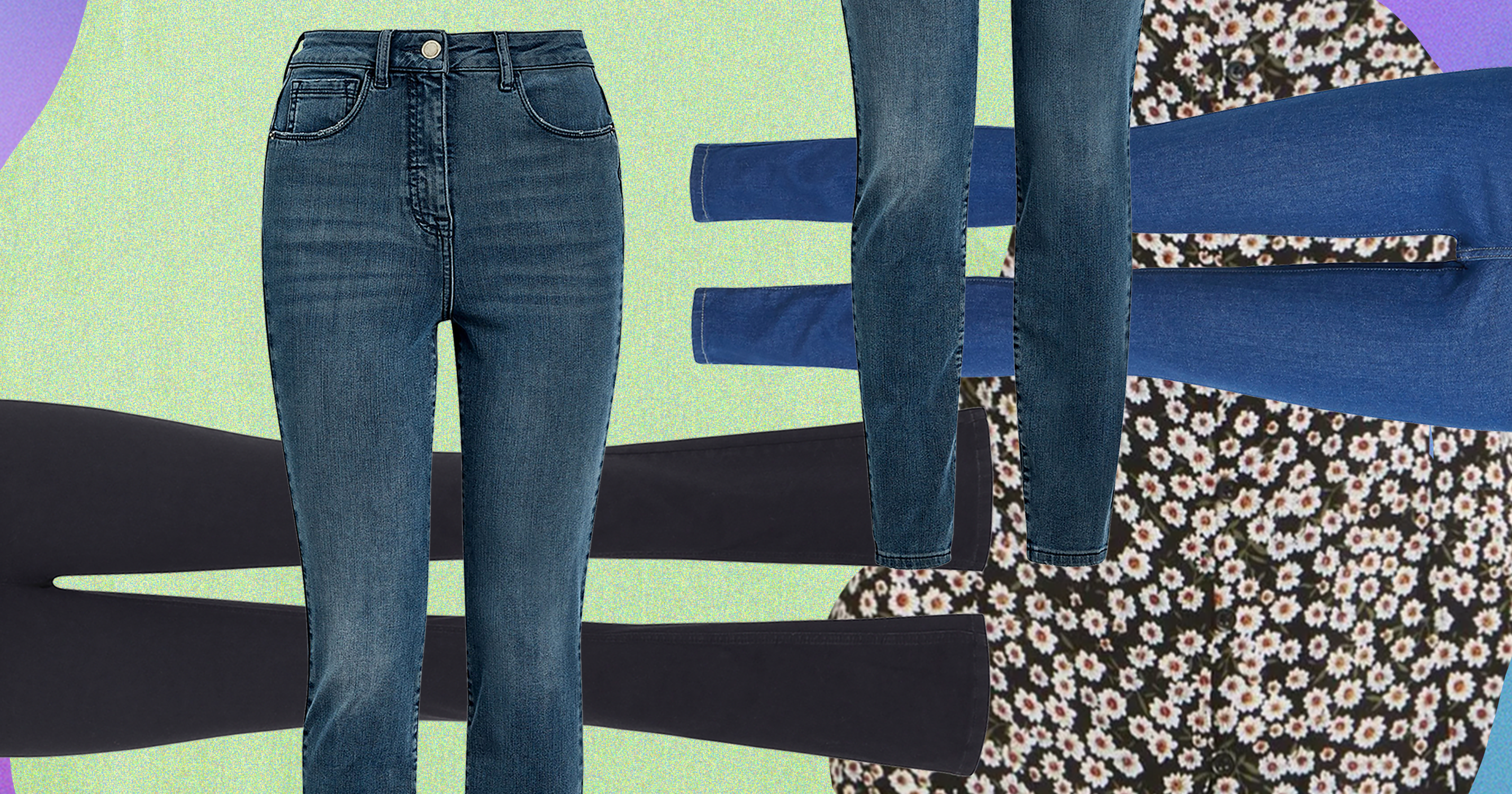5 Pairs Of Jeans For When The Weather Can't Make Up Its Mind
