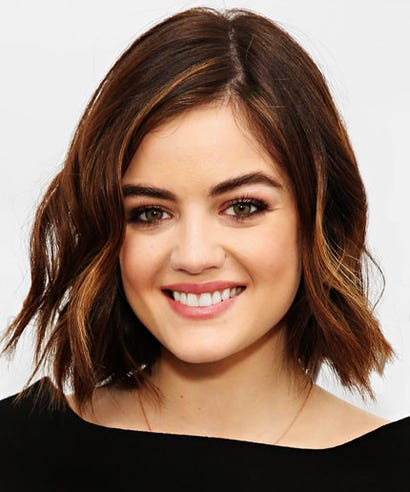 Lucy Hale Makeup Hair Interview