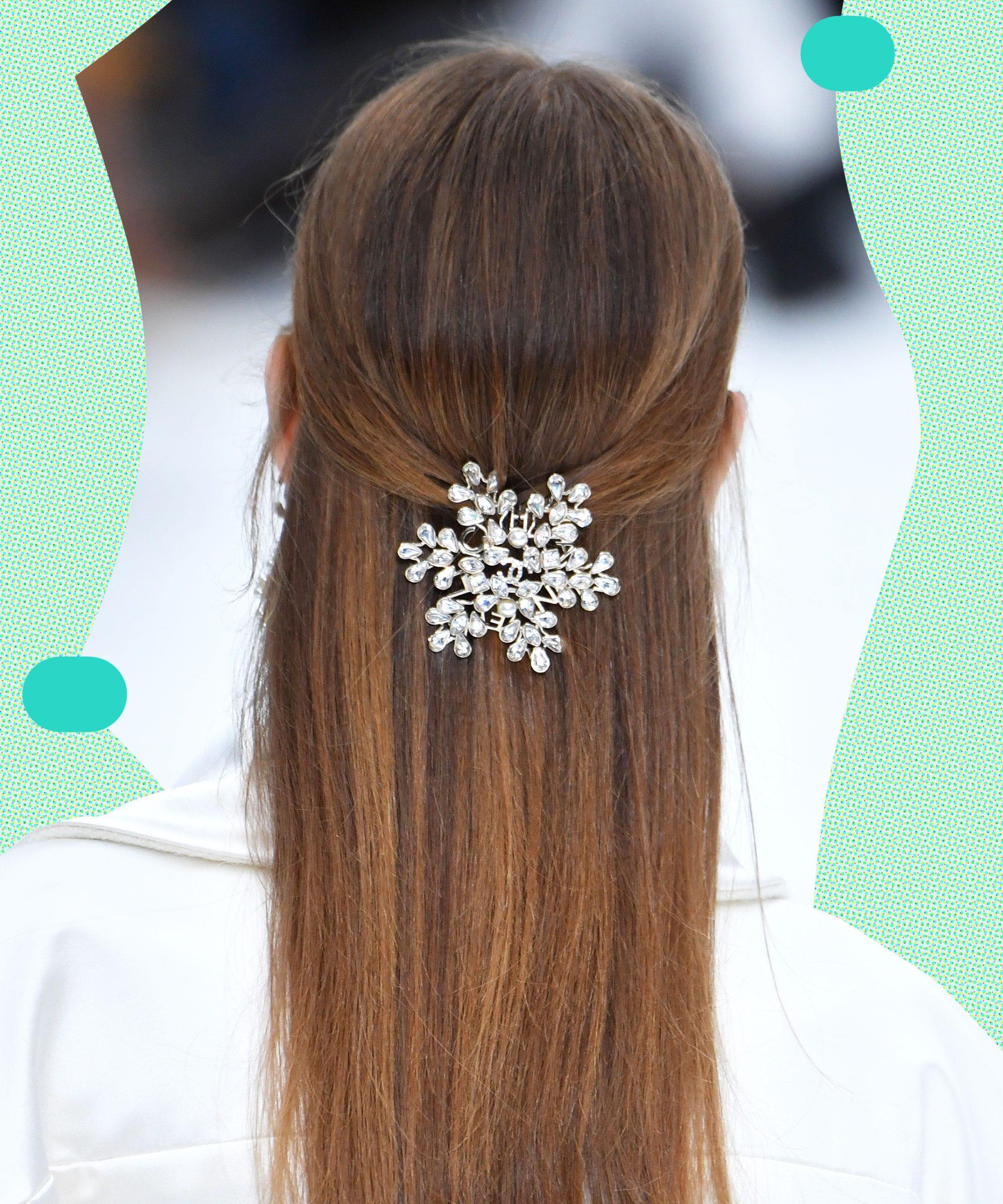Pretty Half Up Half Down Wedding Hairstyles For Brides