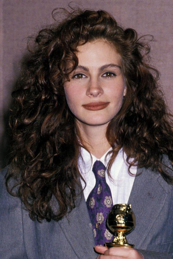 90s Celebrity Brown Lipstick Makeup Trend Pictures