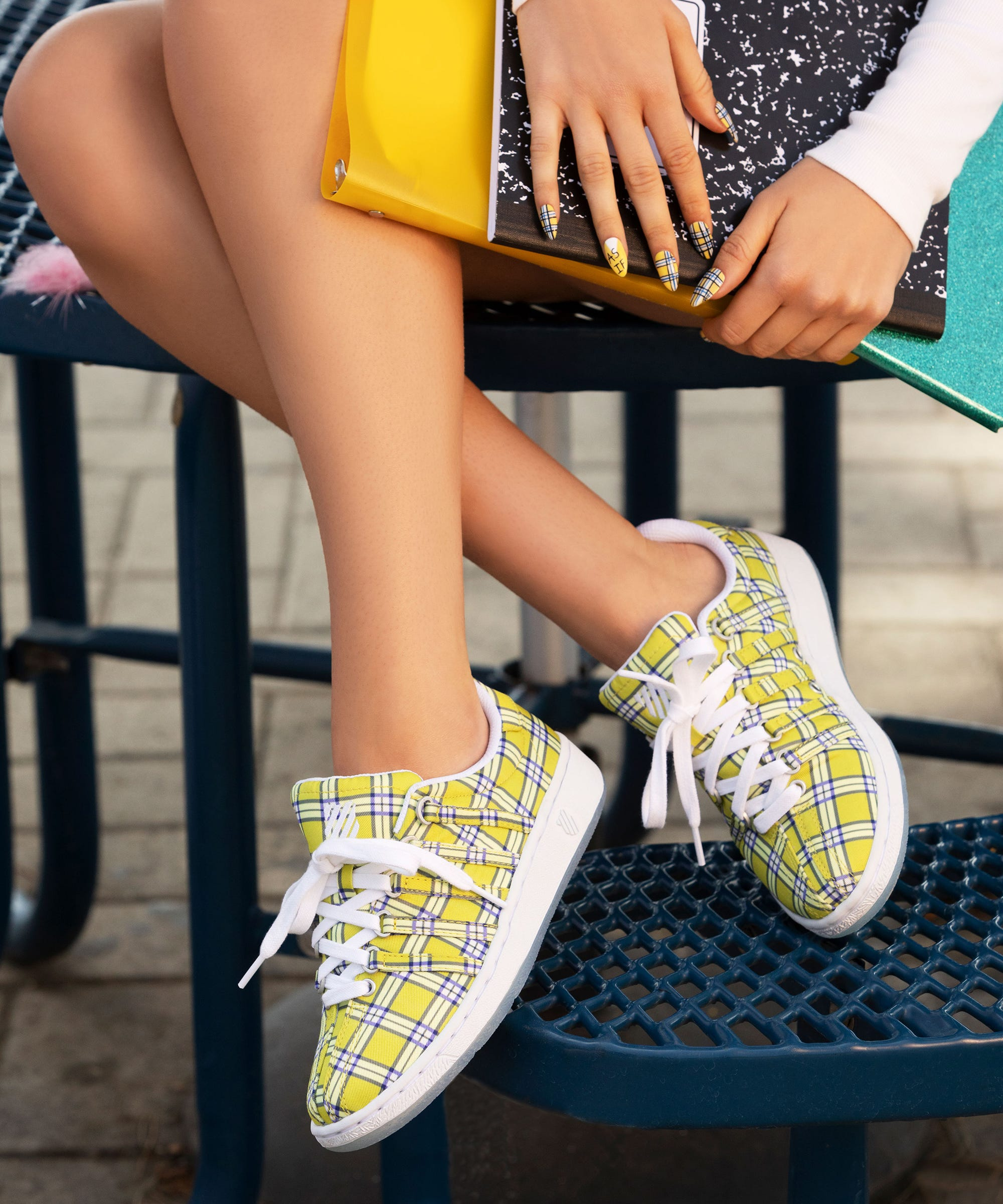 Clueless x K-Swiss Sneakers Are A 90s