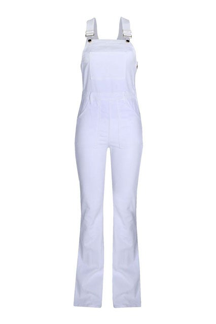 cost charm buy online choose clearance Le High Flare Denim Overalls