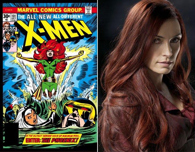 X Men Girl Characters XMen Feminism-Days Of ...