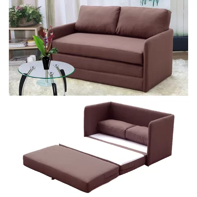 Terrific Earl Reversible Sleeper Loveseat Caraccident5 Cool Chair Designs And Ideas Caraccident5Info