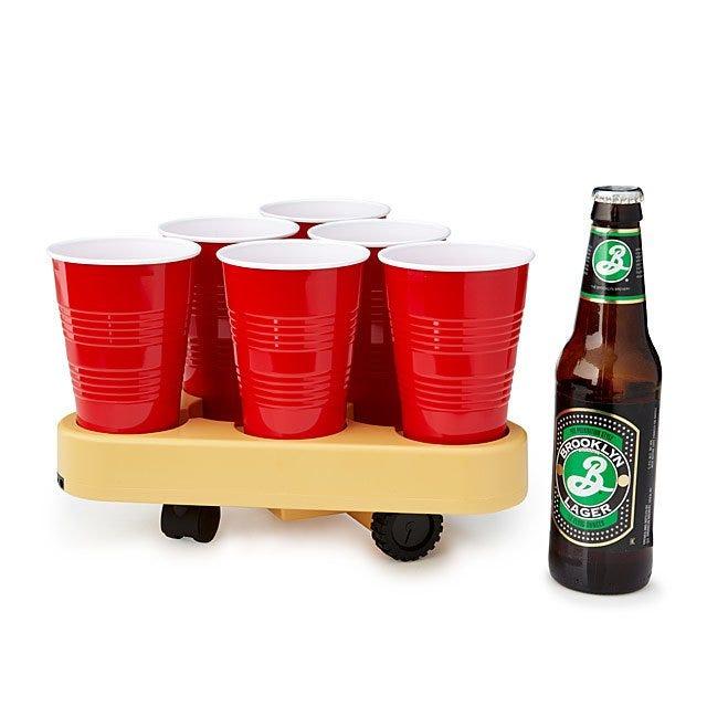 Bruu Moving Beer Pong Robot