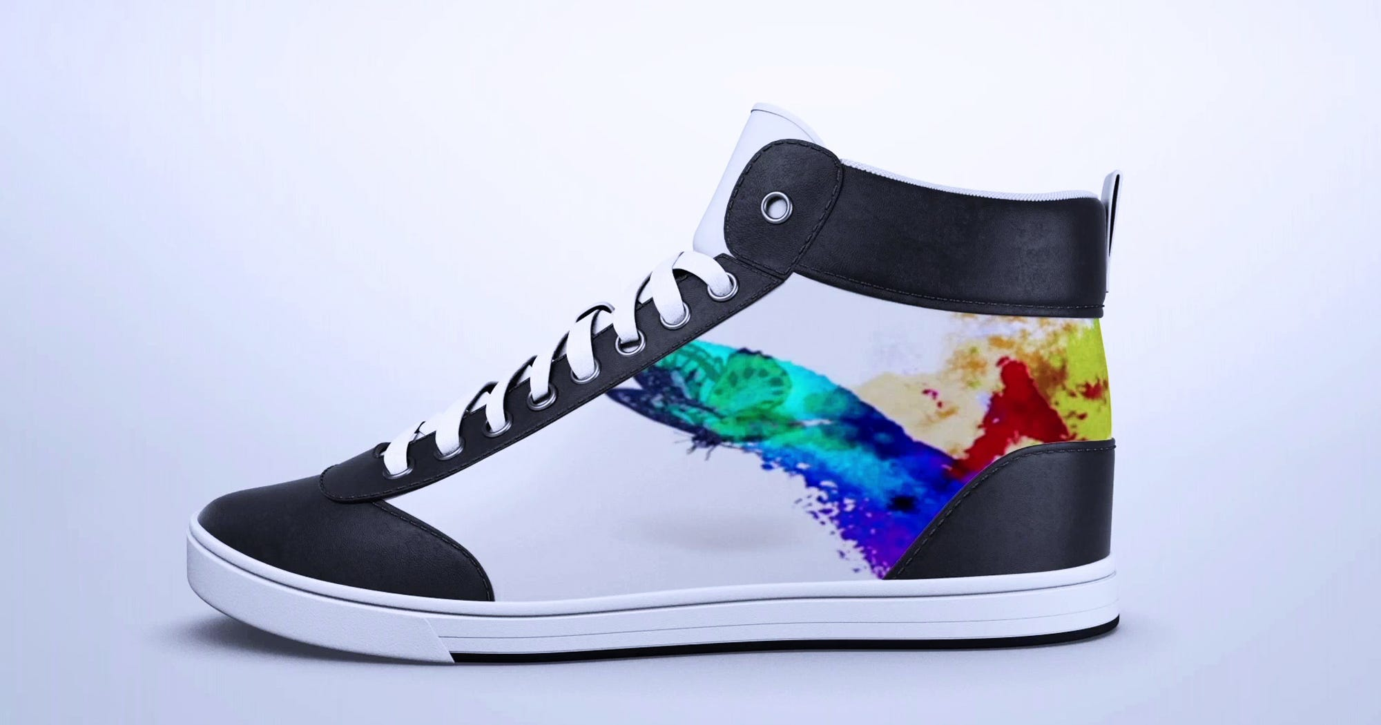ShiftWear Customizable Digital Sneakers