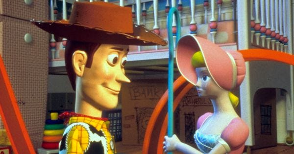 Toy Story Strong : Toy story woody bo peep love