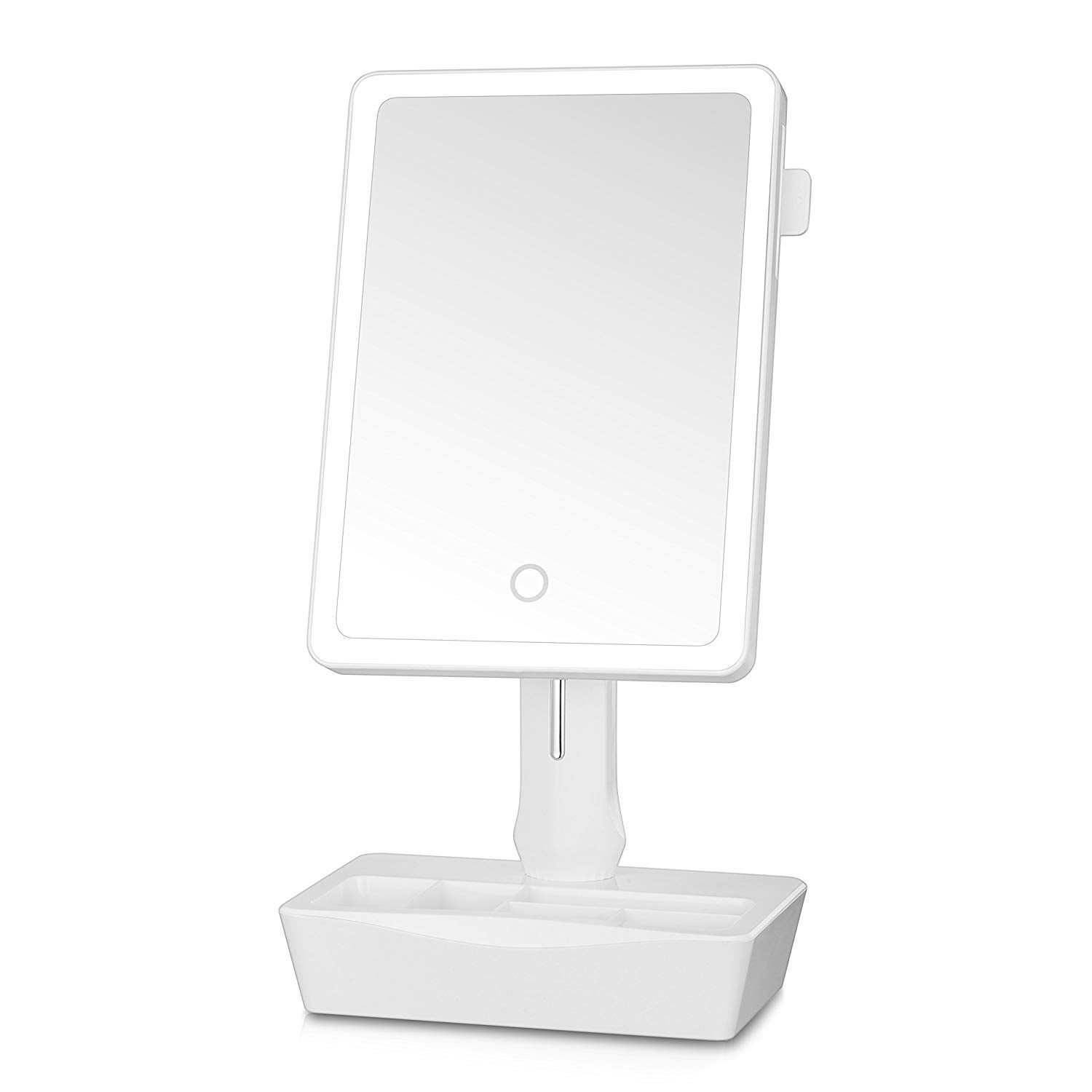Amazon + Lighted Makeup Mirror,GROWRICH 10X Magnifying Makeup Mirror, Vanity Mirror with Light - 웹