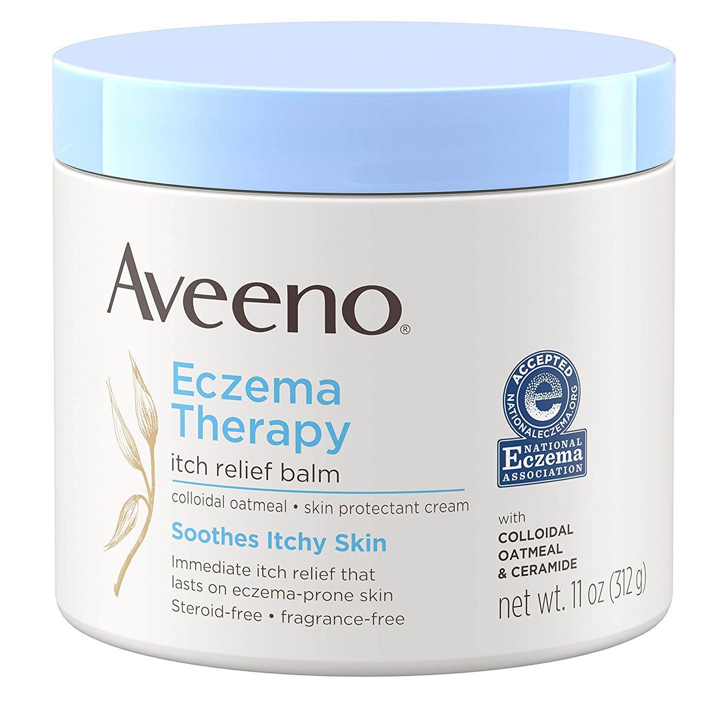 Aveeno Eczema Therapy Itch Relief Balm with Colloidal Oatmeal