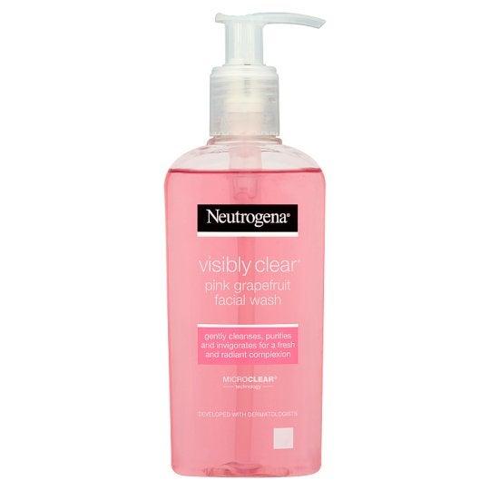 Neutrogena + Visibly Clear Pink Grapefruit Facial Wash