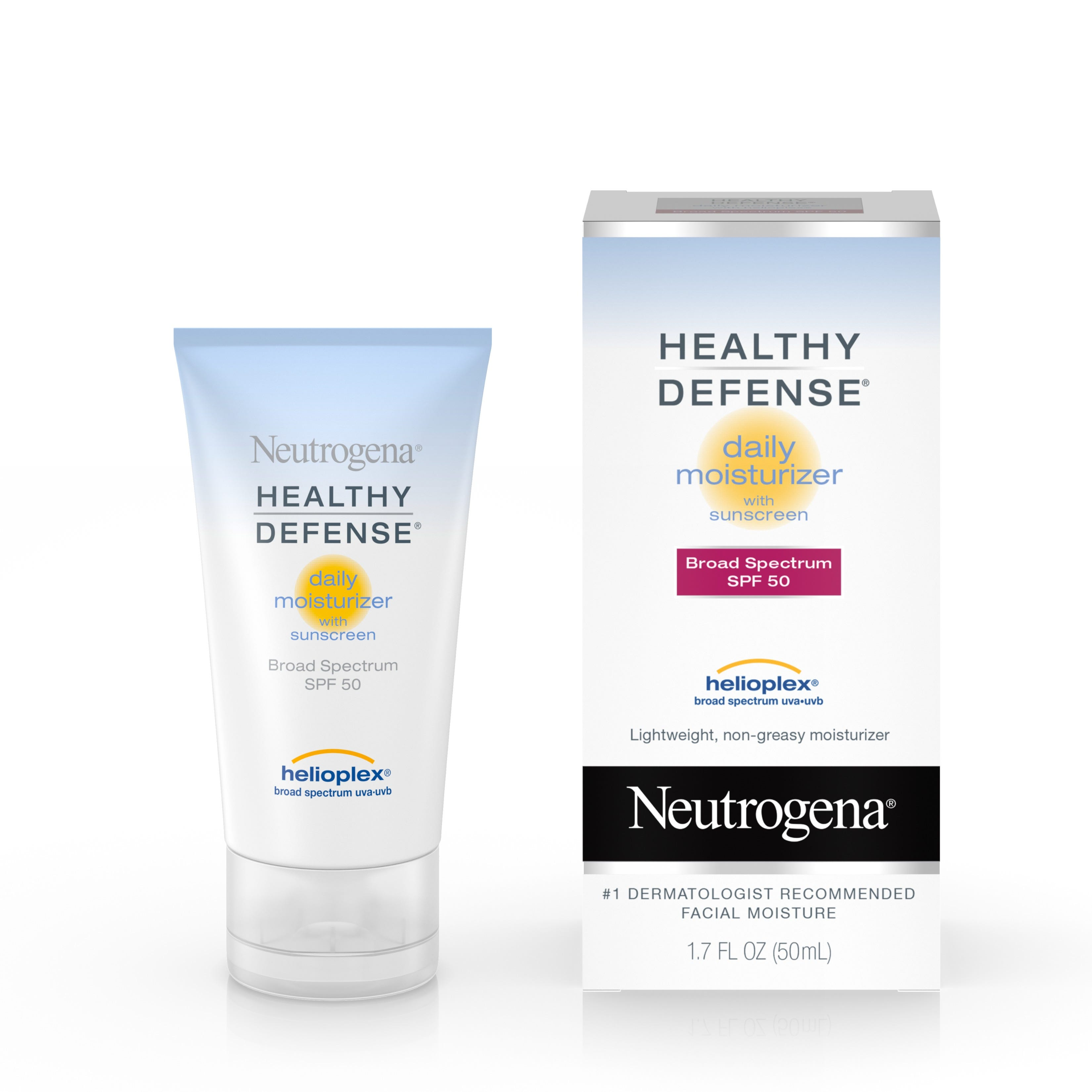 Healthy Defense Daily Face Moisturizer with SPF 50