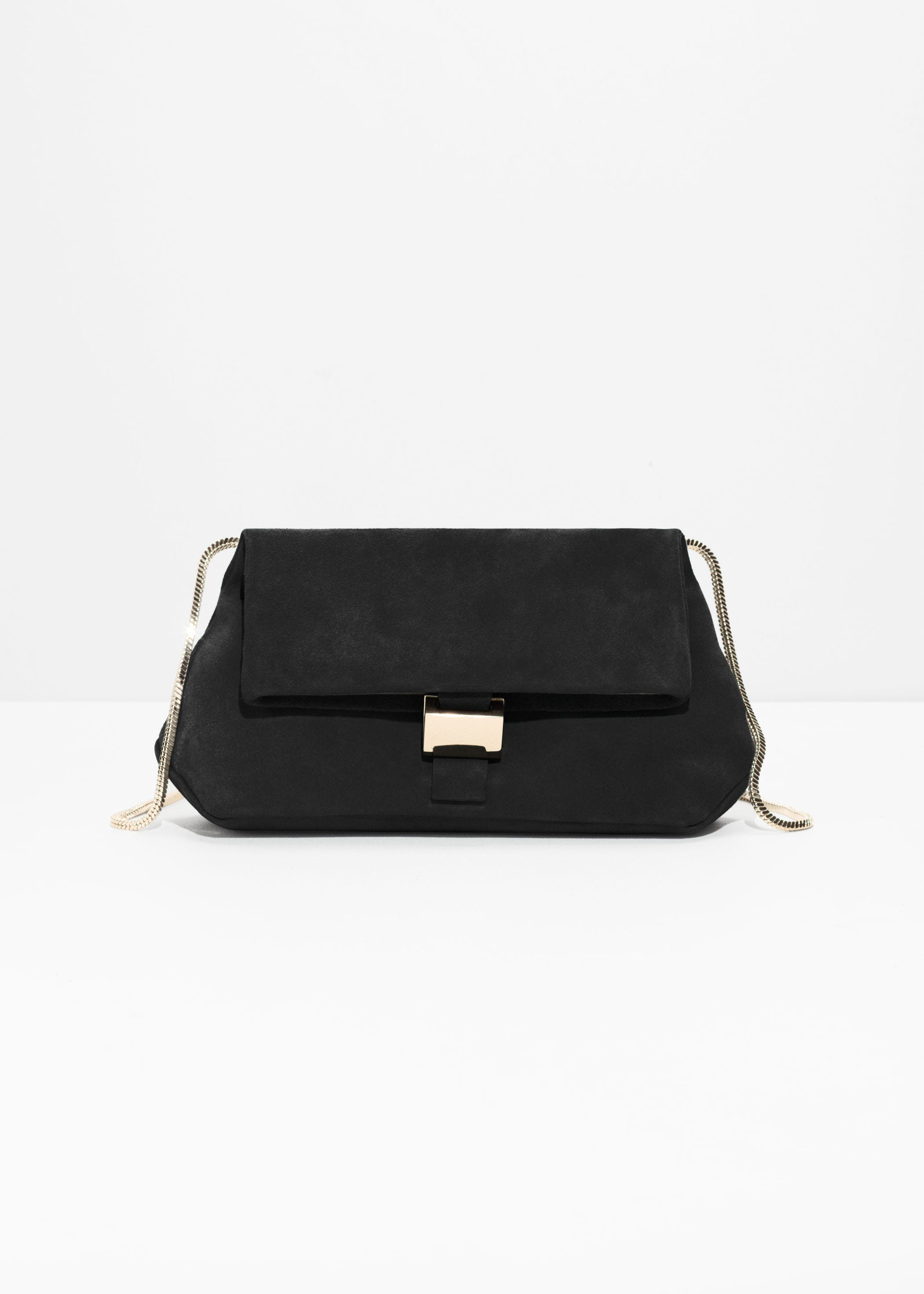 Other Stories + Small Leather Fold-Over Bag c5b3cbc214724
