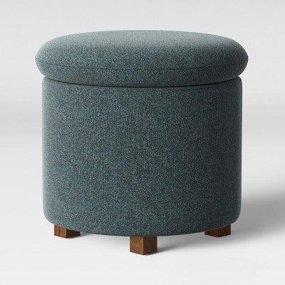 Peachy Pamona Round Ottoman Spiritservingveterans Wood Chair Design Ideas Spiritservingveteransorg