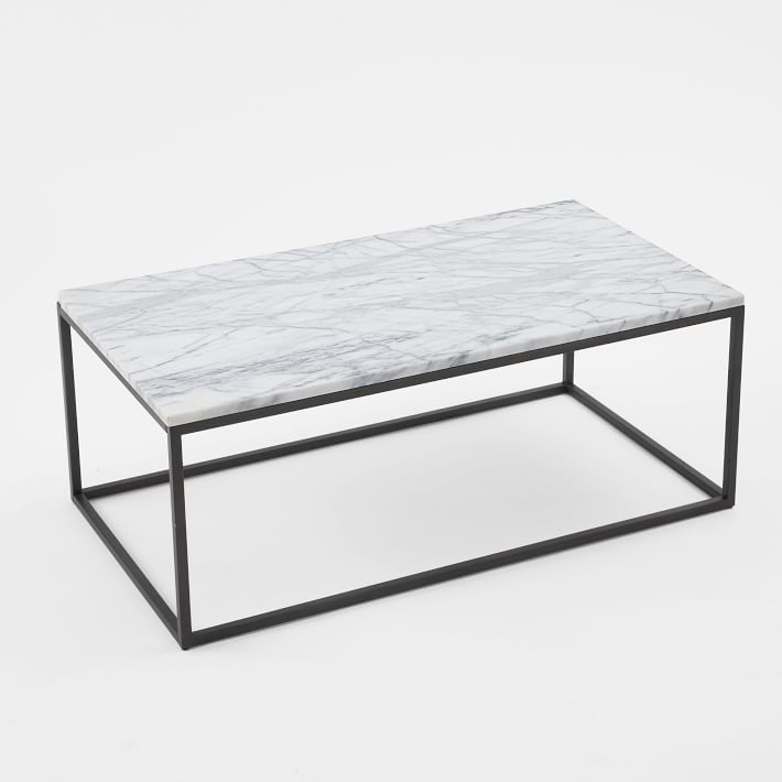 Box Frame Coffee Table Marble