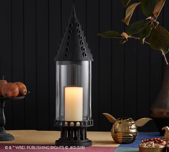 Pottery Barn Harry Potter Hogwarts Castle Lantern