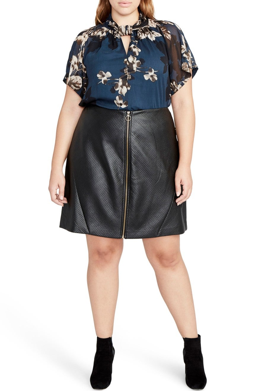 Nordstrom Fall Plus Size Womens Clothing Best Styles Mom N Bab Skirt Blue Ruffle Hem Rachel Roy