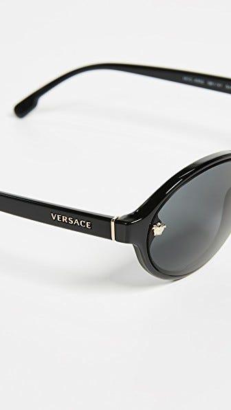 2708928f6791 Versace + Oval Sunglasses